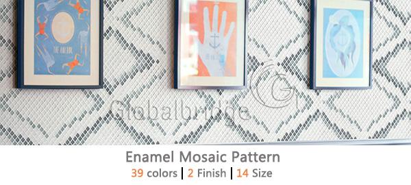 Enamel Mosaic Pattern